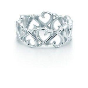 Tiffany & Co Paloma Picasso 925 Loving Heart Ring